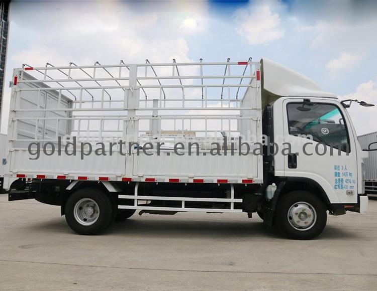 Diesel light truck 3 ton cng 4x2 van cargo china supplier 6t low price for wholesale