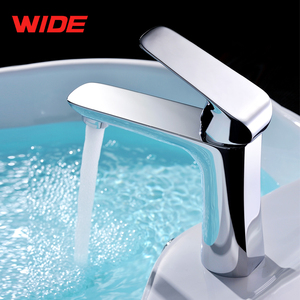 Chrome polished hot cold water mixer tap, type of water tap brand