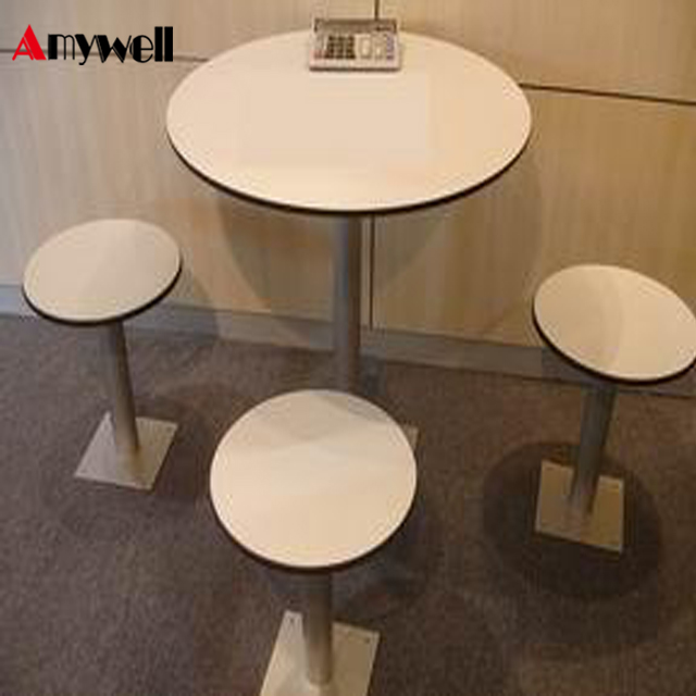 Amywell Modern fireproof Phenolic resin HPL compact laminate table tops