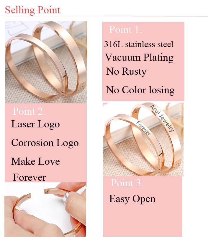 33880563a84f La mayoría de los productos populares pulseras de acero inoxidable logotipo  personalizado pulseras para par