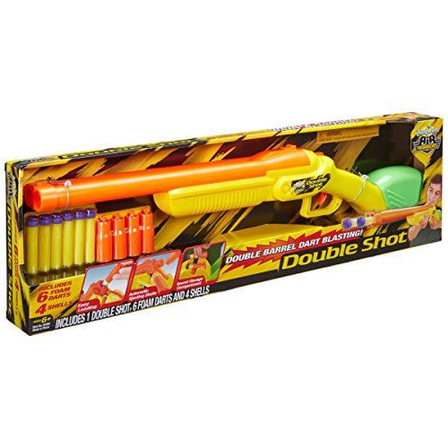 Buzz Bee Toys Air Warriors Side by Side Double Shot Blaster
