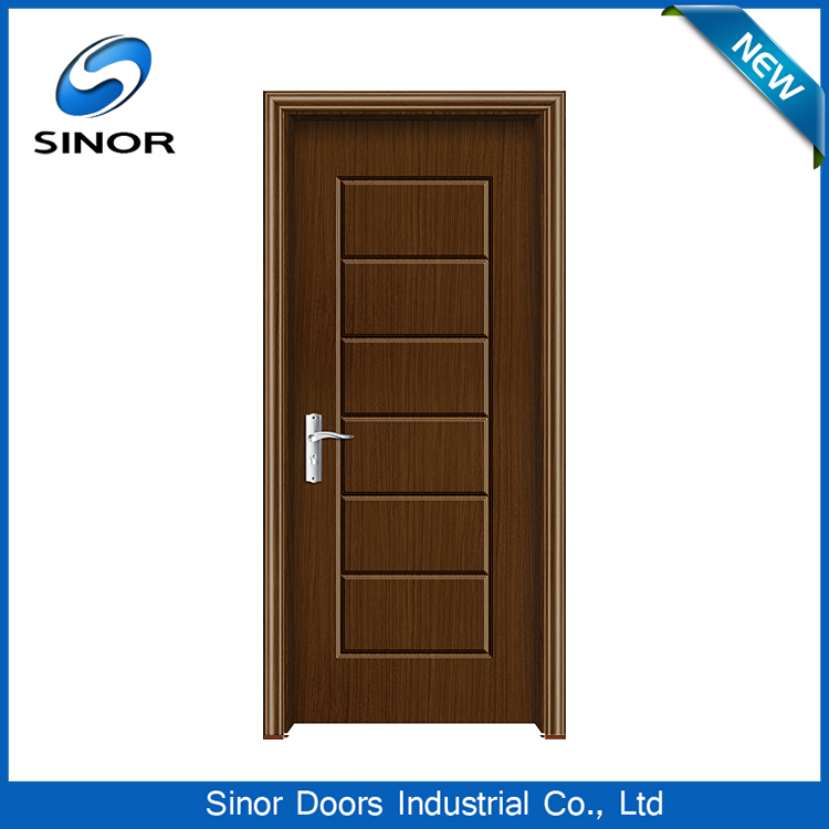 China Wpc Rfl Solid Wood Frame Pvc Bathroom Door Price ...