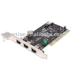 PCI 3-Port IEEE1394 + 5 Port USB2.0 Card