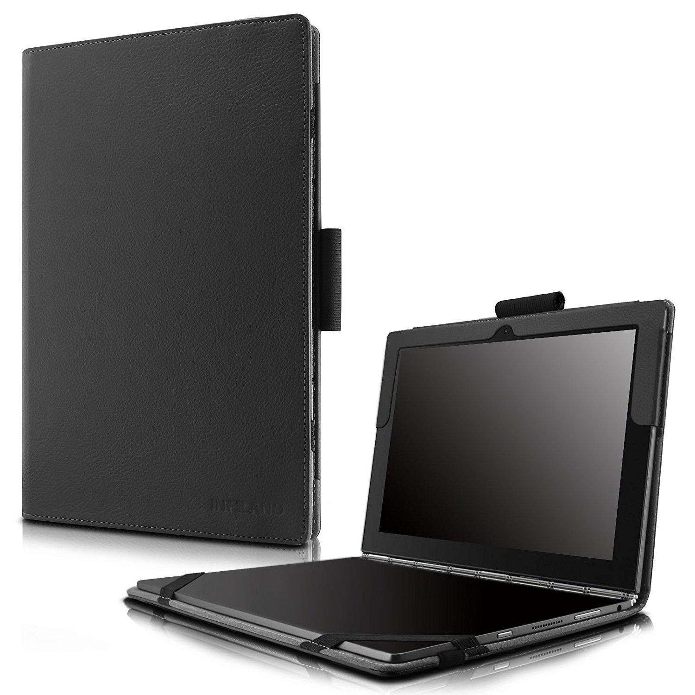 meet d6c7a db872 Buy Infiland Lenovo Yoga Book Case, Folio Premium PU Leather Stand ...