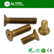 M6 M8 Alloy Copper Phillips CSK Head Machine Screw DIN965