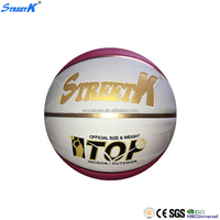streetk brand size 7 basketball custom printed rubber basketball