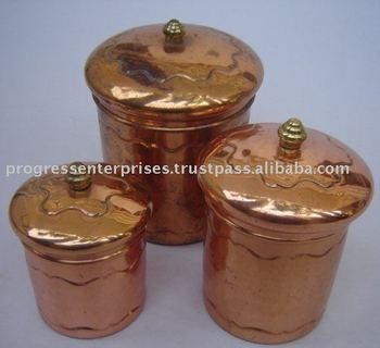 Copper Cannisters