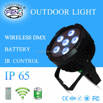 6- 7 In1 Rgbwa Uv P Ip65 Mini Waterproof Led Outdoor Light Battery ...