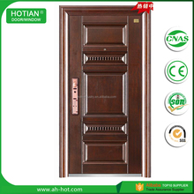 China Factory Ghana Entrance Steel Doors Cheap Apartment Door Safety Door
