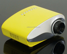 Customized Color Cheap Mini Projector RD802 Yellow Smart Mini LED Projector