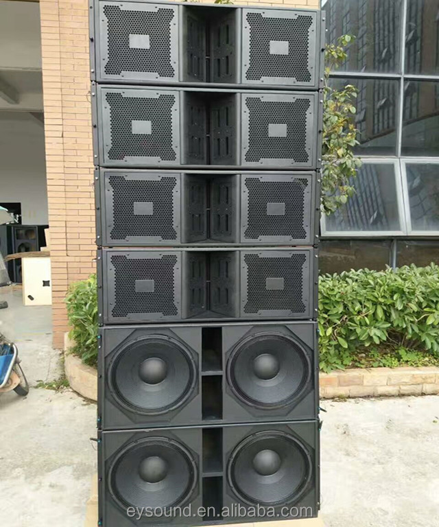 Three way dual 12 Inch Quality Concert Line Array Speaker VT4888