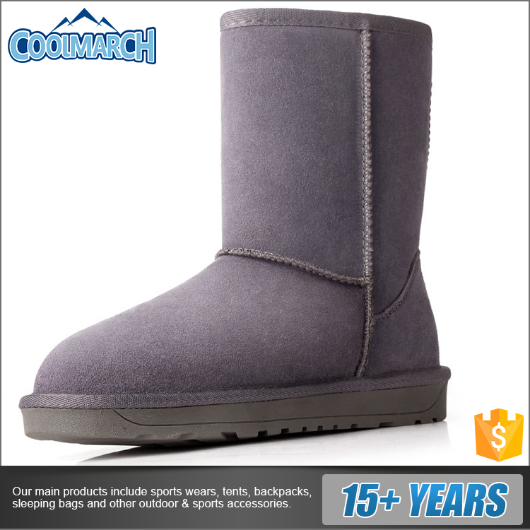 Factory direct hot sale fashion women cheap snow boots for cold winter