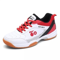 Cheap Professional Latest Best Deals Mens Pu Casual Sport Badminton Shoes