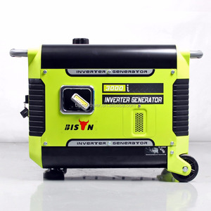 Bison Portable 3kW 3kVA 3000W Silent Gasoline Inverter Generator for Camping