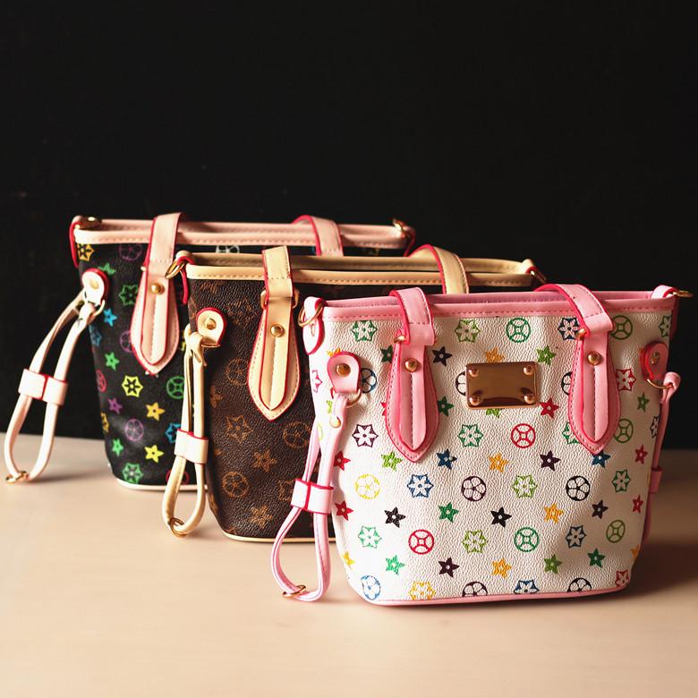 New 2017 Fashion Brand Design Children Sling Messenger Bags S Colorful Purse Mini Handbag Kids Shoulder Bag Bolsas