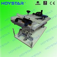 Manual Glass Bottle Screen Printing Machine On Sale In Dongguan