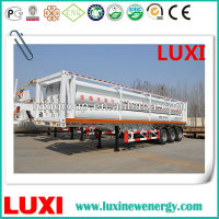 27.8M3 , 25Mpa CNG Mobile natural gas bundle container truck trailer