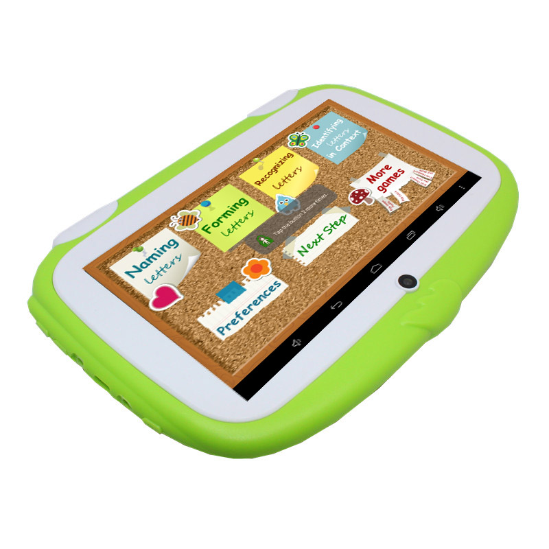 7 ''AllWinner A33 1024*600 pixel 718 kinder Tablet Android Wifi Quad core bunte Tablet für Kinder