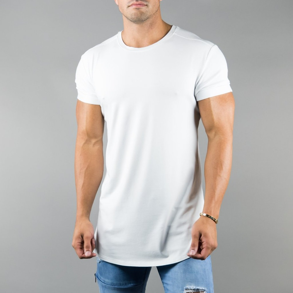 Free Shipping Men 95%Cotton5%Spandex Blank Alphalete Athletics T <strong>Shirt</strong> for Energym Wear