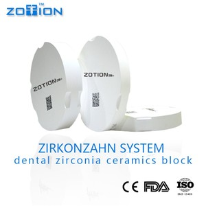 China Denture making suppliers Full Crown Dental Zirconia Block