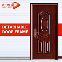 metal frosted glass interior doors