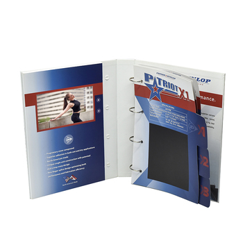 Single Design Lcd Video Brochure 2.4''/2.8''/4''/4.3''/5''/7''/10'' Video Magazine Video Booklet