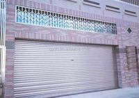 Motorized Folding DoorsExterior Commercial Shutter Door For Garment Store