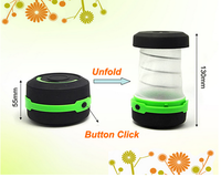 (F09088) Colorful Led Torch Light Popular 3 Modes ABS Mini LED Camping Lantern