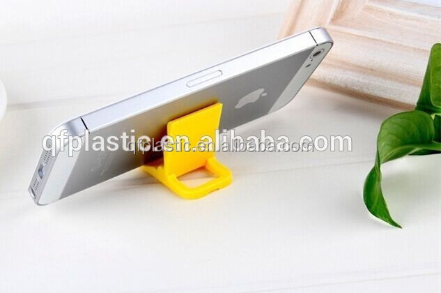Universal mini desk mobile stand holder plastic phone holder as promotional gift