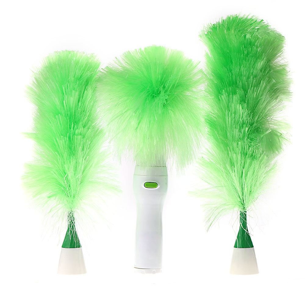 furniture duster. Get Quotations · Multifunctional Electric Duster Set Motorized Cleaning Brush Green Feather Dusters For Blinds Furniture Keyboard U