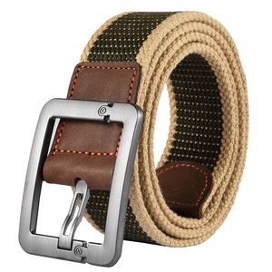 Custom Military Style Canvas Webbing Belts In Bulk For Men and Women
