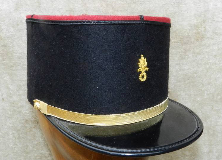 French fashionable air defence forces sergeant hat