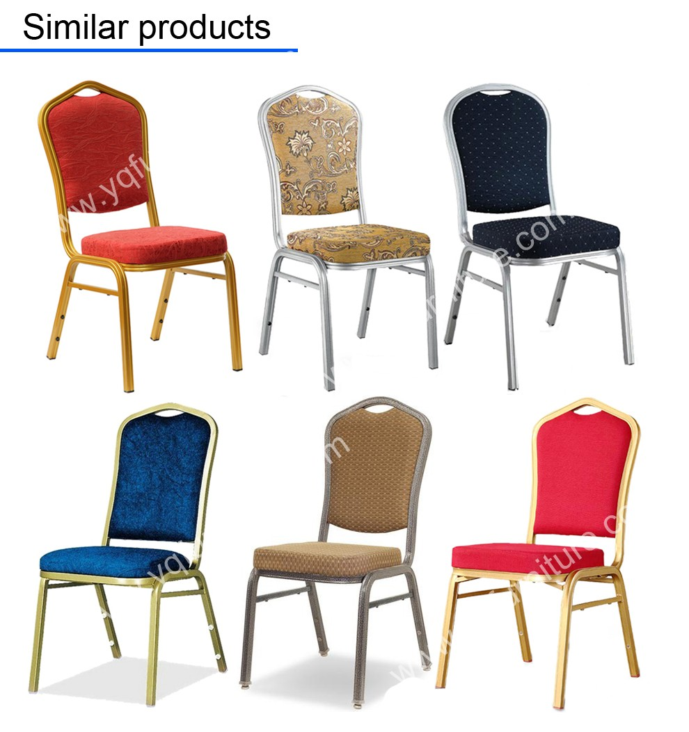 Outdoor banquet chair for party chaises de liquidation