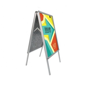 indoor advertising display double side poster board