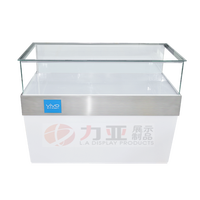New mobile phone glass display counter mobile phone shop display counter counter mobile phone shop