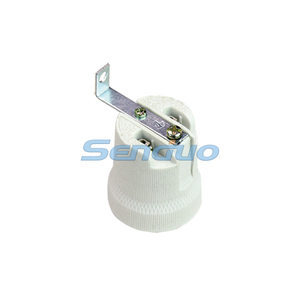 electric lamp holders E27 with ceramic body