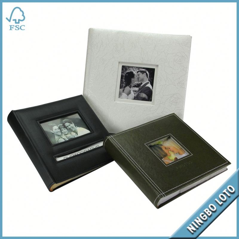 China Manufactured high quality paper slip sheet photo album