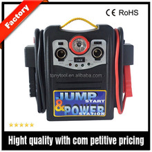 12V Rechargeable auto jumper battery pack combinational jump start system