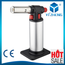 Aluminum Inflatable Butane Gas Jet Flame Torch Lighter Welding Soldering GunYZ-709