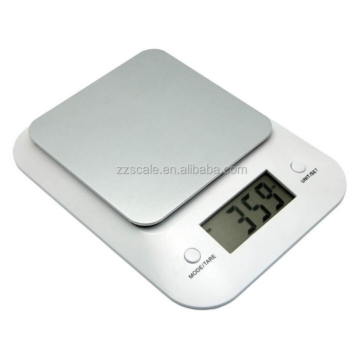 Digital Scale Stainless Steel Digital Kitchen Food Scale, Electronic Cooking Scale, 0.1g ~ 5000g Capacity