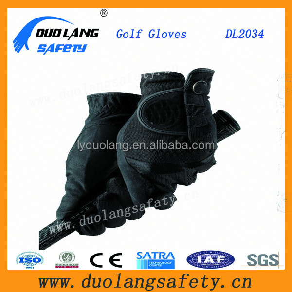 Custom Adults Comfortable Tennis Gloves Breathable Mesh Glof Gloves