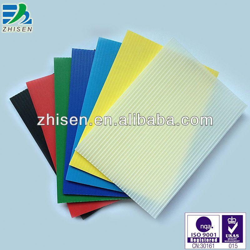pp corrugated plastic temporary protective sheet