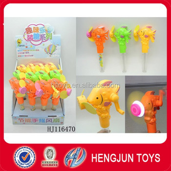 Wholesale Hand Control Fan Toy Candy Tubes