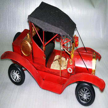 2015 new vintage Handmade metal Car Model