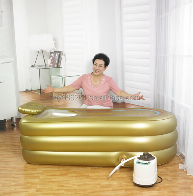 everfount printemps or couleur grande taille pvc gonflable baignoire pour les parents cadeau. Black Bedroom Furniture Sets. Home Design Ideas