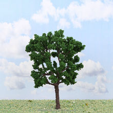 free shipping Various iron wire&plastic miniature scale model trees sand table building model tree(s-i51)