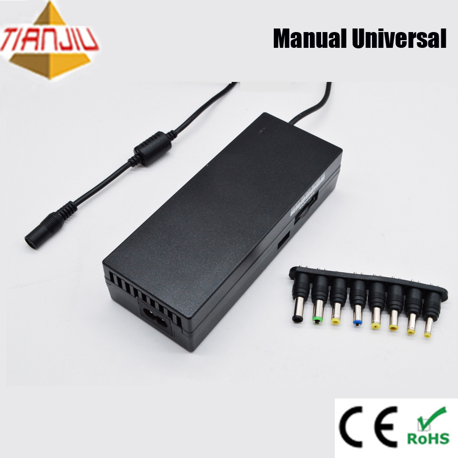 CE ROHS 90W manual universal laptop ac dc power adapter for dell hp asus acer lenovo