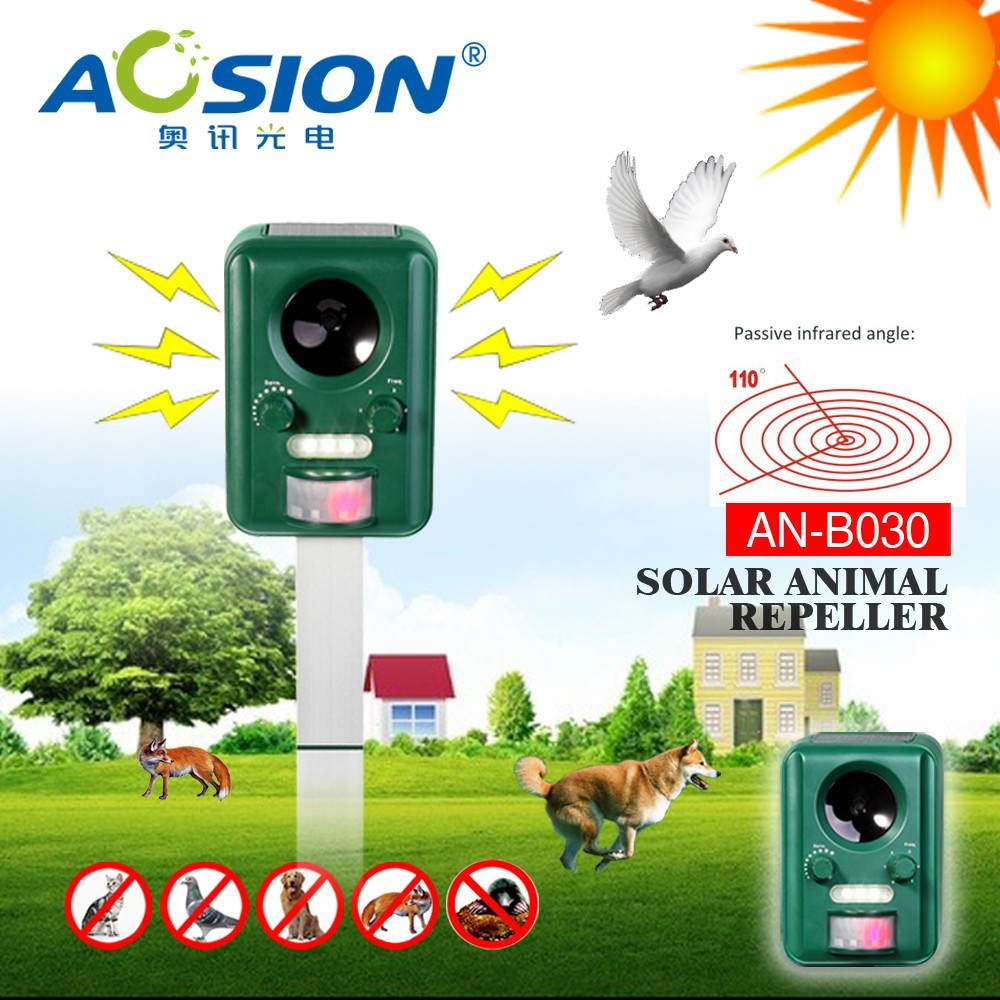 Cat repeller Defenders Flashlight Ultrasonic Dog Chaser