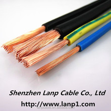 single core cable for power system 4mm2 6mm2 diameter