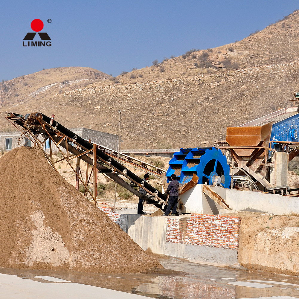 1200tph sand washing plant,combination and sand screening washing plant